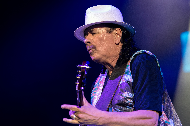 Santana performs at Ak Chin Pavilion in Phoenix AZ on June 30 2017 by Greg Cohen