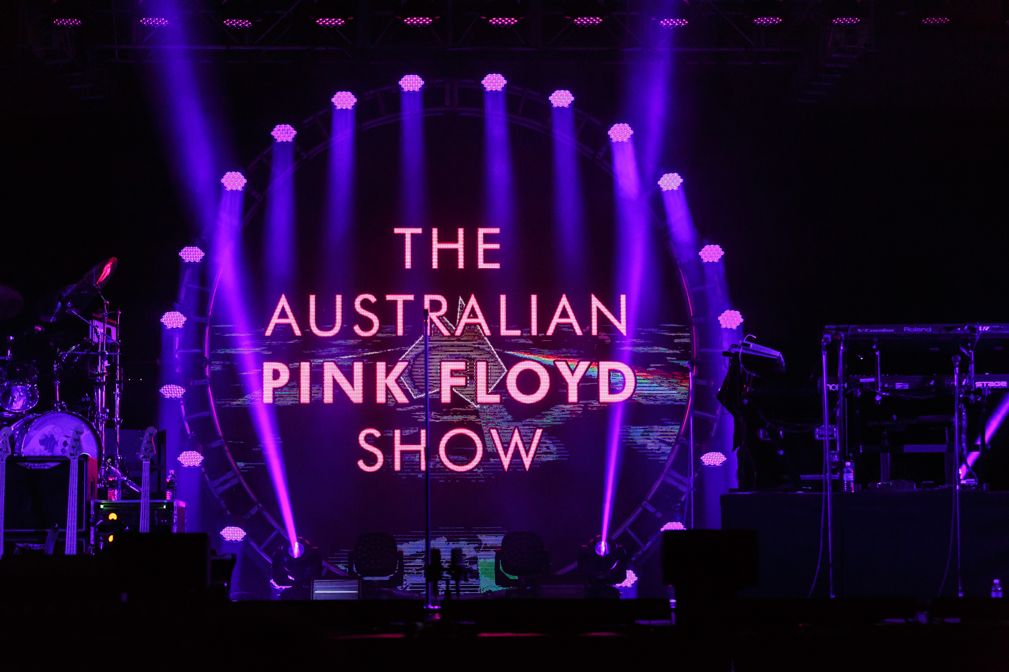 the australian pink floyd show brought the eclipse to talking stick resort ballroom beneath a. Black Bedroom Furniture Sets. Home Design Ideas